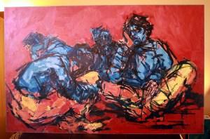 Untitled - 1966 - Mohanna Durra مهنا الدرة (Muhanna al Durra)
