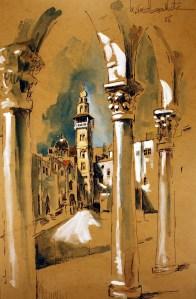 Jerusalem, Jordan - 1966 - Kamal BOULLATA  كمال بلاطة