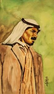 Standing Man Rafiq LAHAM 1966 - رفيق اللحام (Rafik LAHHAM)